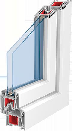 plastová okna Knipping 70 AD Jihlava