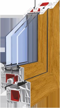 plastová okna KNIPPING 76 Jihlava