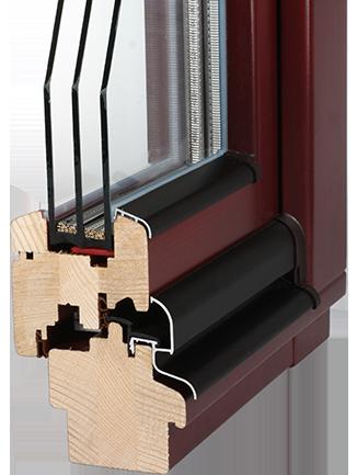 Dřevěná okna Oknolux iv78 Liberec