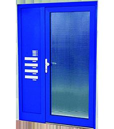 vstupní dveře do panelových domů