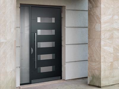 Vchodové dveře antracit