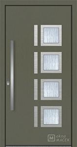 hliníkové vstupní dveře