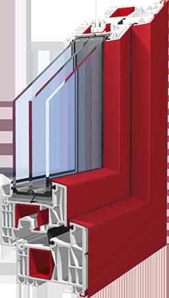 plastová okna KNIPPING 88 Šumperk